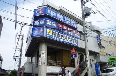 CG中萬学院 菊名スクールの周辺地図