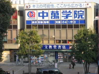 CG中萬学院 渋沢スクールの周辺地図