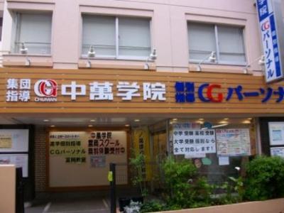 CG中萬学院 富岡スクールの周辺地図