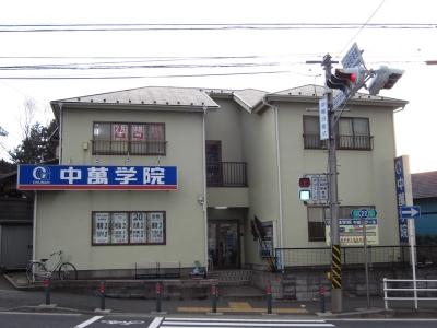 CG中萬学院 中田スクールの周辺地図