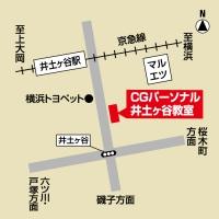 CGパーソナル 井土ヶ谷教室の周辺地図