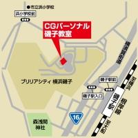 CGパーソナル 磯子教室の周辺地図