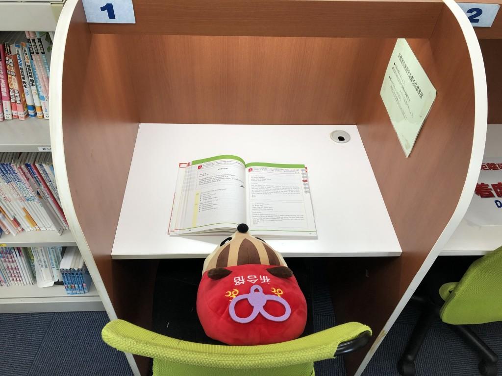 個別自習ブースが6席あるなりっす! ここでならお家でするよりも勉強に集中できるなりっす!