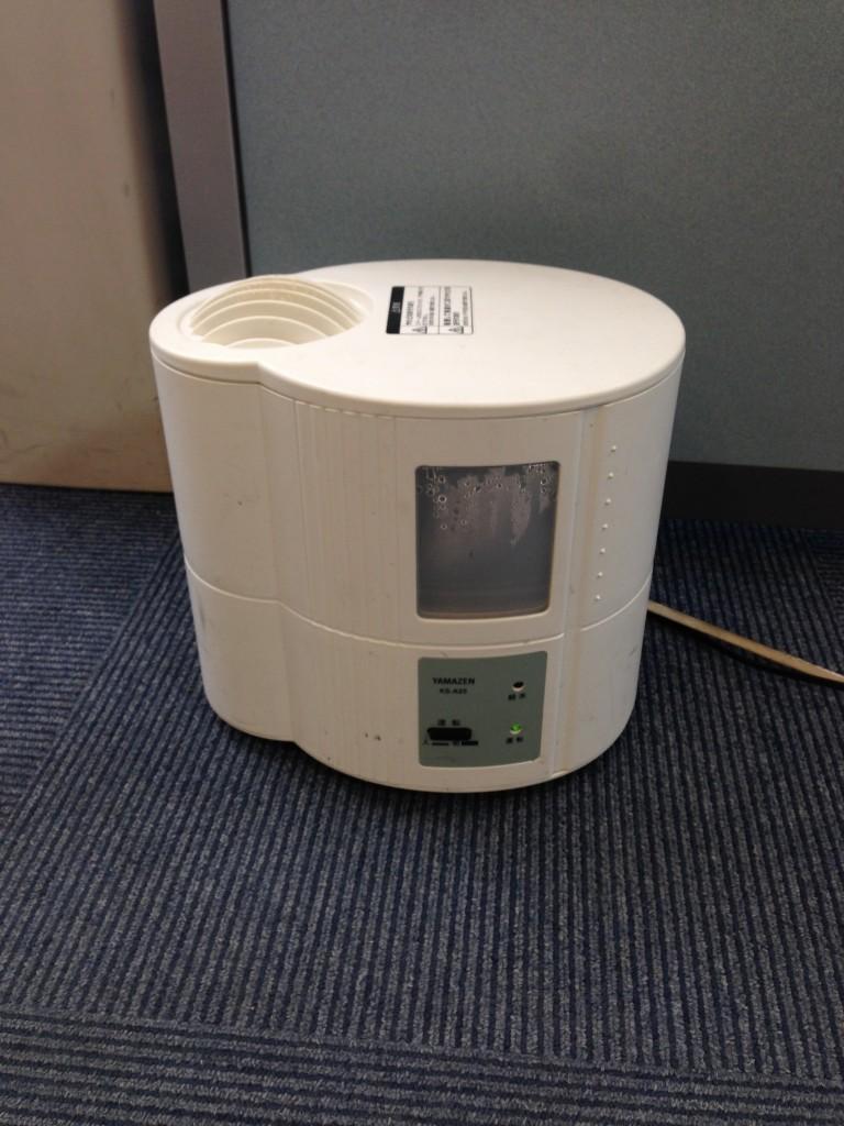 プラズマクラスターに加え、寒い時期は加湿器を4台使用してインフルエンザや風邪などの対策をしています。