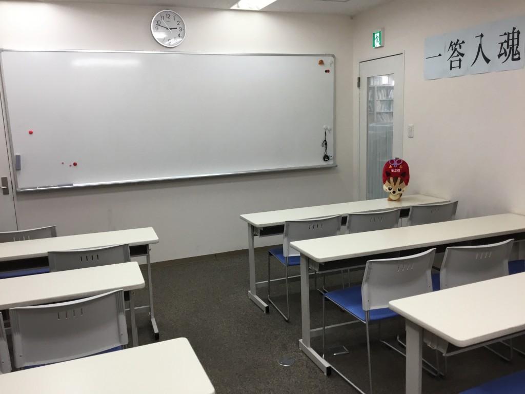 集団教室も自習室としてご利用いただけます。