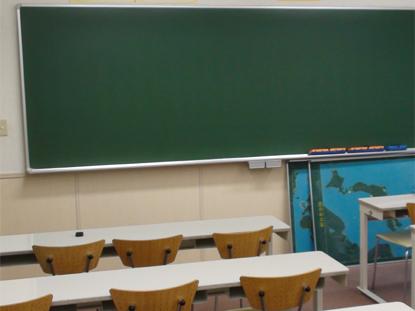 集団授業の教室もあります。