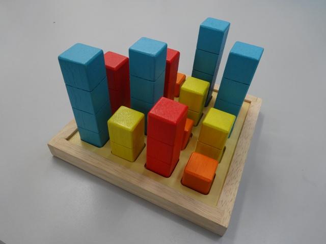 パズル道場教具:ビルディング