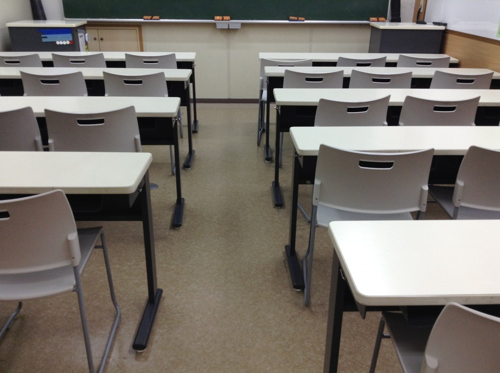 * 教室 * 授業で使用する教室です。