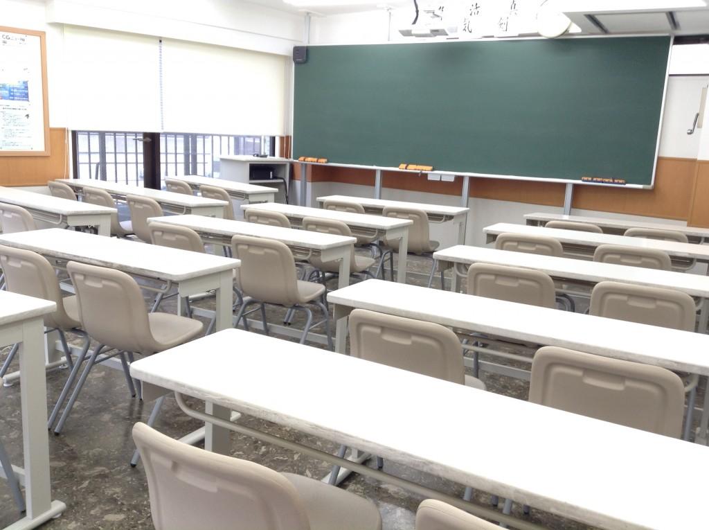 こちらが教室です。
