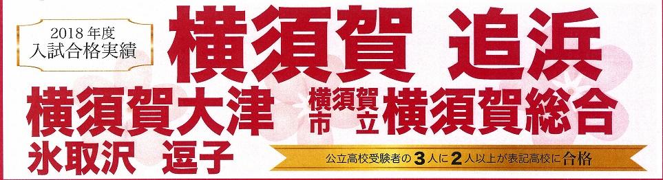 合格 横須賀 追浜 実績 入試